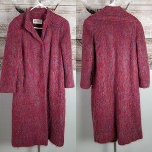 Vintage Jaywein Jacobson's Multi-Color Wool Coat